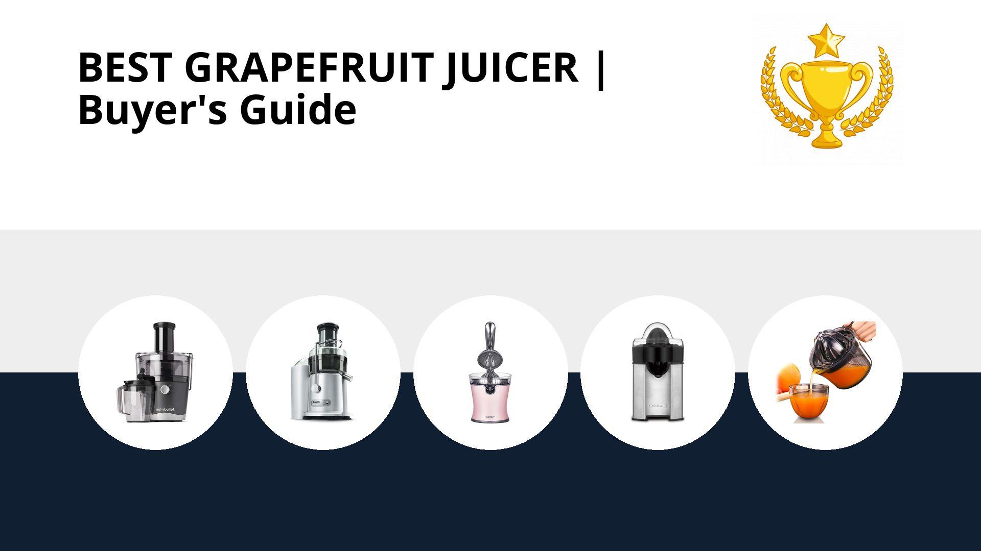 Best Grapefruit Juicer: image