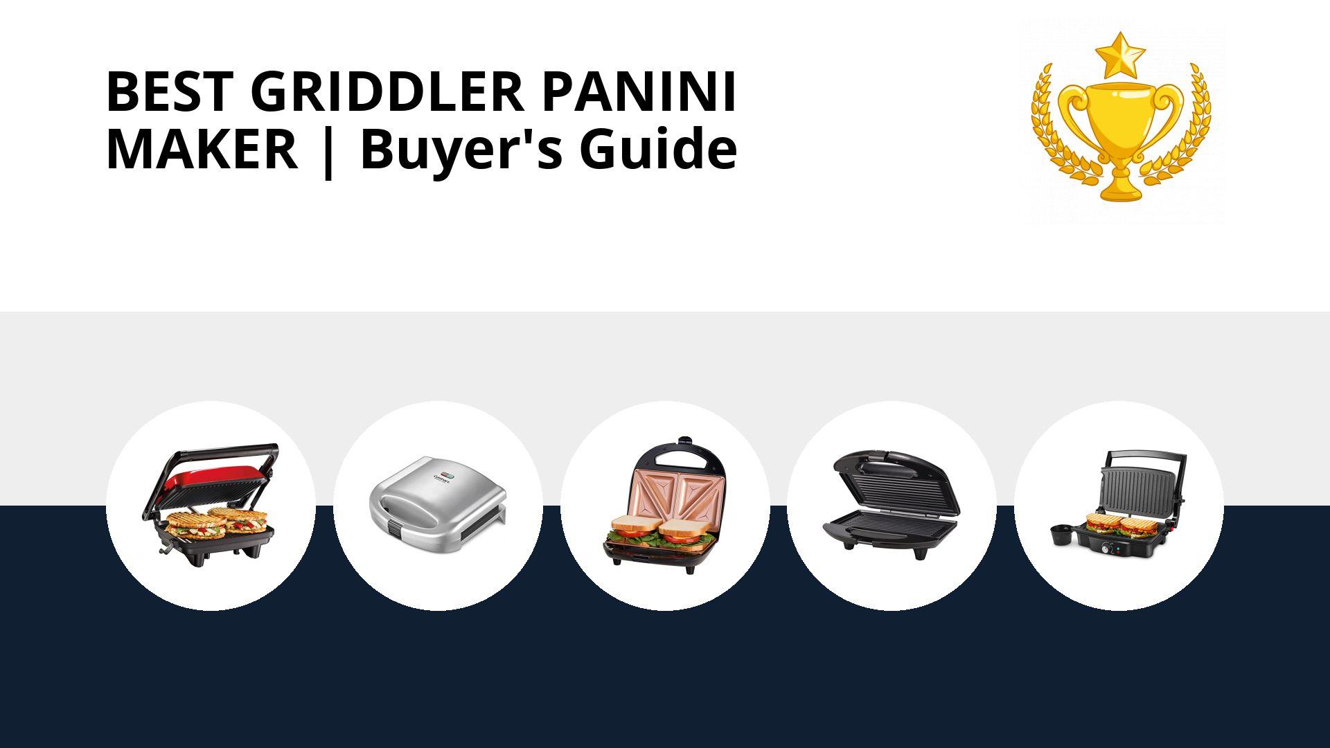 Best Griddler Panini Maker: image