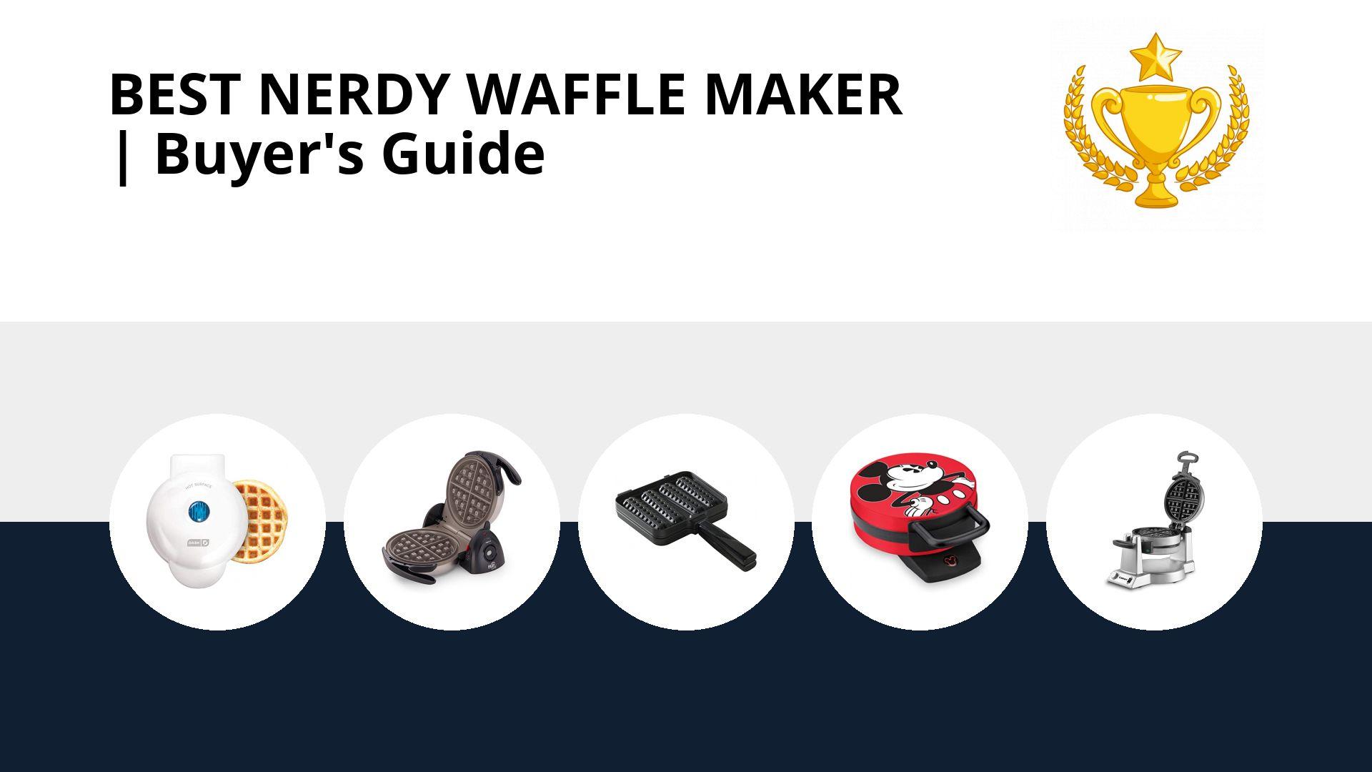 Best Nerdy Waffle Maker: image