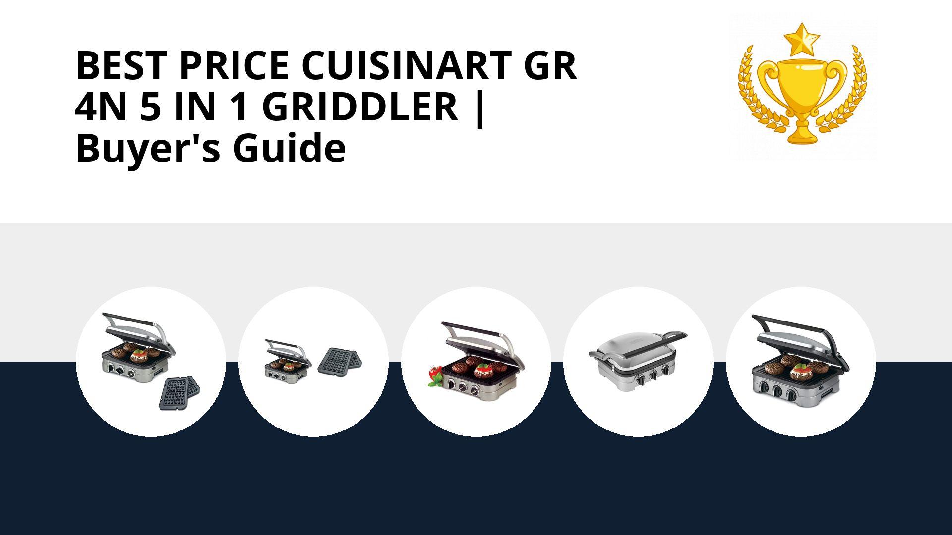 Best Price Cuisinart Gr 4n 5 In 1 Griddler: image
