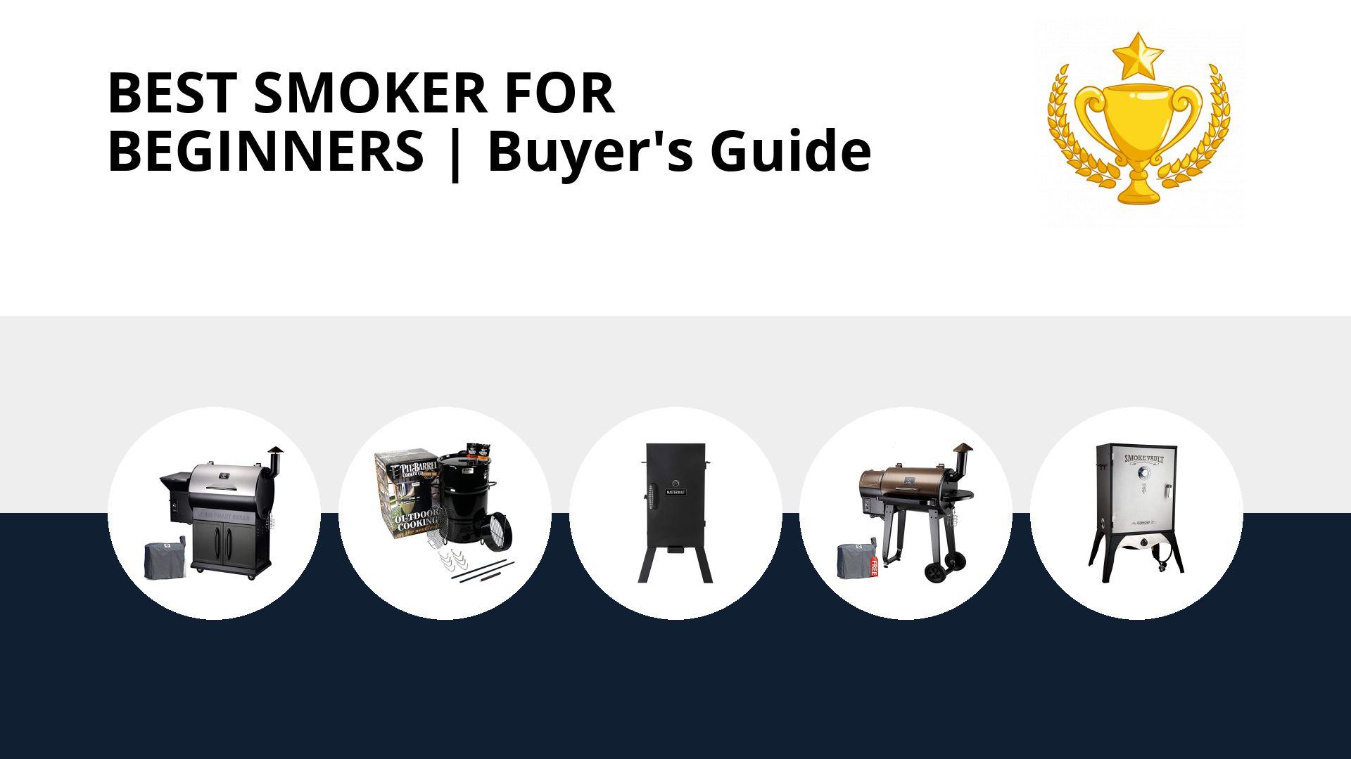 Best Smoker For Beginners: image